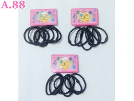 Donut Cacing Hitam Card Isi 722 /bungkus (A-9483)